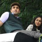 Ileana and Ranbir Nice Still On The Sets Of Barfi