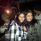 Priyanka and Ileana Sweet Pose on Set of Barfi