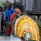 Priyanka Chopra in Punding Village For Barfi Shoot