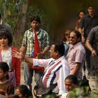 Priyanka Chopra Spotted at Punding Village For Barfi Shoot