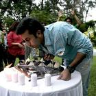 Ranbir Celebrates Birthday on The Sets of Barfi