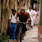 Ranbir Kapoor Bicycle Still On The Sets Of Barfi