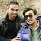 Ranbir Kapoor Cute Smile Pose On The Sets Of Barfi