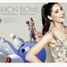 Nargis Fakhri's Print Ad for PVR Blu O Bowling