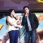 Ranbir Kapoor Promotes Barfi at Cineworld,Feltham in UK