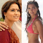 Lara Dutta Hot Bikini Pic In Blue and Innocent Villager in Mumbai Se Aaya Mera Dost