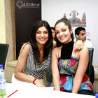 Dia,Sushmita and Sheena at I AM She 2012 Auditions