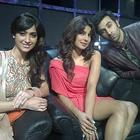 Priyanka,Ranbir and Ileana D'Cruz Promote Barfi On The Set Of Indian Idol