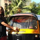 Bipasha Promote Raaz 3 By Tying Chillies and Lemons To Auto Rickshaw