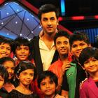 Ranbir Promote Barfi On The Stage Of Dance Ke Superkids Show