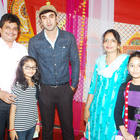 Ranbir On The Sets Of Taarak Mehta Ka Ooltah Chashmah For Barfi Promotion