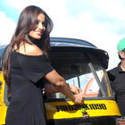 Bipasha Distributing Lemons and Chillies at The Traffic Signal In Mumbai For Raaz 3 Promotion