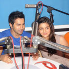 Student Of The Year Star Cast Visits Red FM 93.5 and Radio Mirchi 98.3 FM
