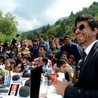 Shahrukh Khan At A Press Conference in Srinagar