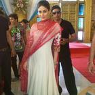 Kareena Kapoor On The Sets of Zee's Punar Vivah To Promote Heroin