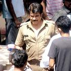 Anil Kapoor and John Abraham On The Sets Of Wadala