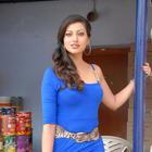 Hamsa Nandini Latest Photo Shoot In Blue Dress