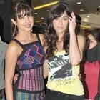 Priyanka and Ileana Pose For Barfi Promotion at R City Mall