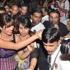 Priyanka Chopra During The Promotion Of Barfi At R City Mall