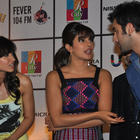 Priyanka,Ileana and Ranbir Discussion During Barfi Promotion at R City Mall