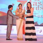 Jwala Gutta On Stage Of South Spin Fashion Awards Function