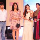 Poonam and Sheena During South Spin Fashion Awards 2012