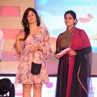 Poonam Bajwa Short Dress Still at South Spin Fashion Awards 2012