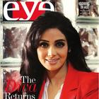 Sridevi On The Cover Of Eye-The Sunday Express