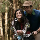 Ranbir and Ileana D'Cruz Bicycle Still in New Movie Barfi