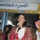 Sushmita Sen Photo Stills at Hyderabad Film Nagar Temple