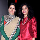 Sridevi On The Sets Of Kaun Banega Crorepati 6 For English Vinglish Promotion