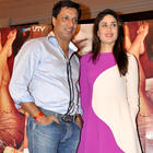 Kareena and Madhur at Press Conference of Heroine