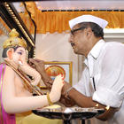 Nana Patekar Celebrates Ganesh Chaturthi at Home