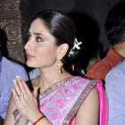 Kareena and Madhur Promote Heroine at Ganesha Pandal