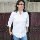Neetu Singh Looks HotIn White Shirt and Blue Jeans
