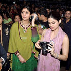 Shilpa,Raj Kundra and Shamita Shetty at Ganesh Visarjan in Mumbai