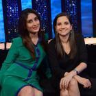 Kareena Kapoor On The Sets Of The Front Row With Anupama Chopra