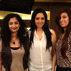 Sridevi and Gauri Pose For Camera at The Press Meet Of English Vinglish