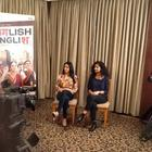 Sridevi and Gauri at an  Press Meet Of English Vinglish