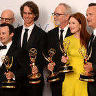 Winners and Guests At The Emmy Awards