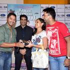 Shreyas at Kamaal Dhamaal Malamaal Housie Contest at R Mall