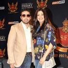 Shilpa With Husband Raj and Olympic Medalist Mary Kom at SFL Press Meet