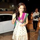 Monica Bedi Visits Andheri Cha Raja Ganpati Pandal in Mumbai
