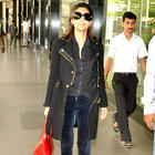 Gauri Khan Looking Hot at Mumbai International Airport