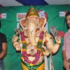 Actor Sunil at Big Green Ganesha 2012 Imax