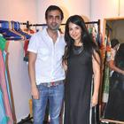 Mayank And Shraddha At Sahachari Foundation Annual Shopping Festival
