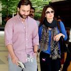 Saifeena Spotted At Mumbai Airport Return From London