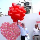 Akshay Kumar at Happy Heart Carnival 2012 At Mumbai Hospital