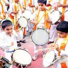 People Enjoy Ganpati Visarjan Procession At Laxmi Road