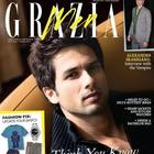 Shahid Kapoor On The Cover of Grazia Men  Oct 2012